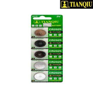 باطری سکه ای 2025 (5عدد)TIANQiU