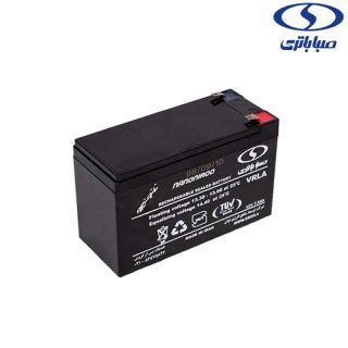 باتری دزدگیر صباباتری12v7.2Amp